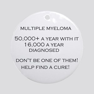 MM Find a Cure! Ornament (Round)