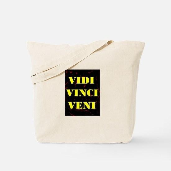 VIDI VINCI VENI Tote Bag
