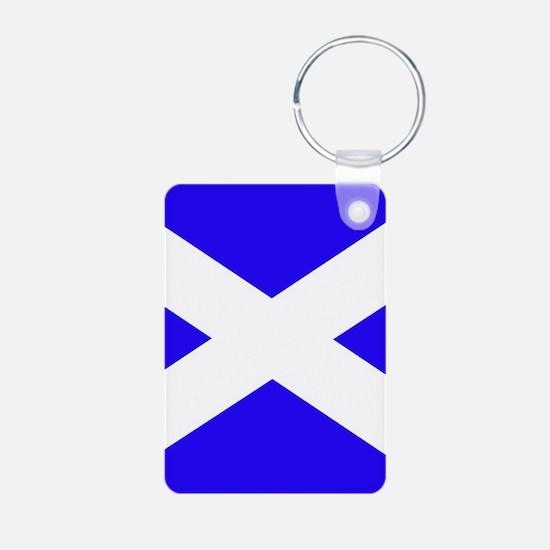 Scottish flag Keychains