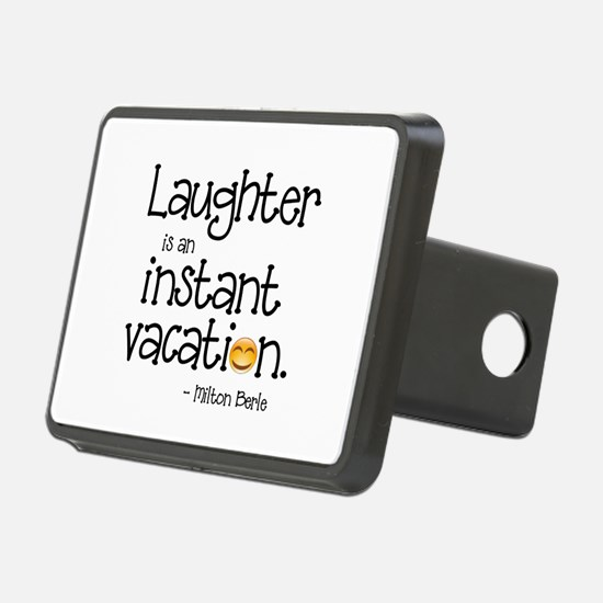 Laughter is an Instant Vac Hitch Cover