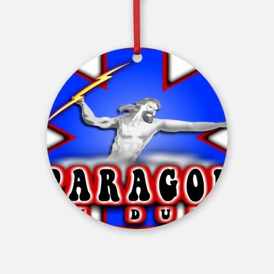 Paragod on duty Ornament (Round)