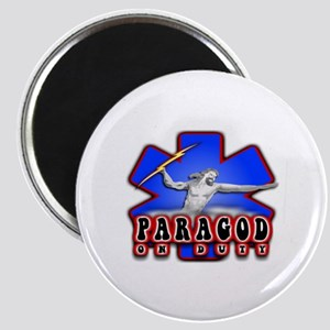 Paragod on duty Magnet