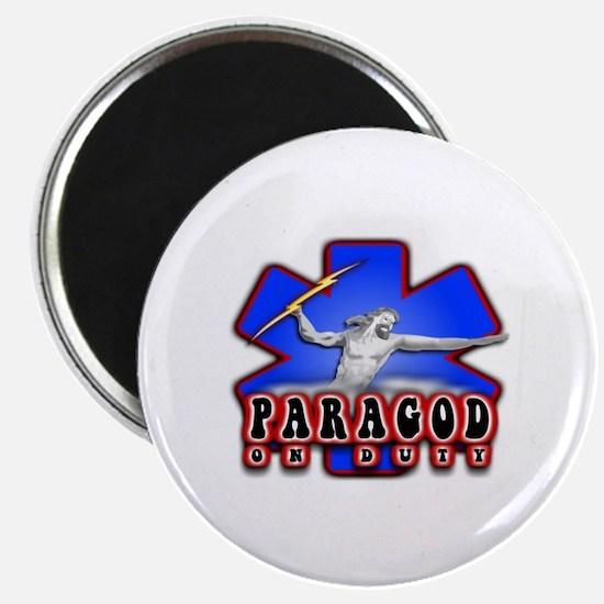 Paragod on duty Magnet