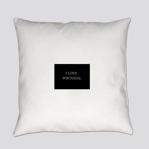 I LOVE PORTUGAL Everyday Pillow