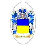 Merli Sticker (Oval 50 pk)