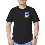 Merletti Men's Fitted T-Shirt (dark)