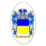 Merletti Sticker (Oval 10 pk)
