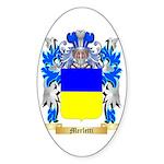 Merletti Sticker (Oval 50 pk)