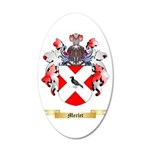 Merlet 20x12 Oval Wall Decal