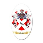 Merlet 35x21 Oval Wall Decal