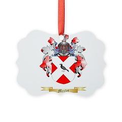 Merlet Ornament
