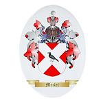 Merlet Oval Ornament