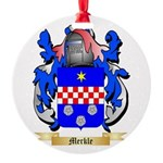 Merkle Round Ornament