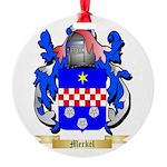 Merkel Round Ornament