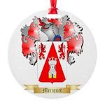 Meriquet Round Ornament