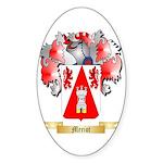 Meriot Sticker (Oval 50 pk)