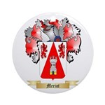 Meriot Round Ornament