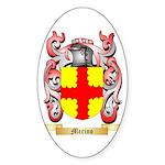 Merino Sticker (Oval 50 pk)
