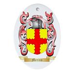 Merino Oval Ornament