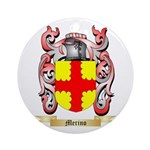 Merino Round Ornament