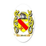 Merill Oval Car Magnet
