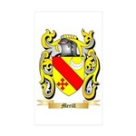 Merill Sticker (Rectangle 50 pk)