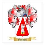 Merigeau Square Car Magnet 3