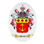 Merey Oval Ornament