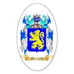 Meredyth Sticker (Oval 10 pk)