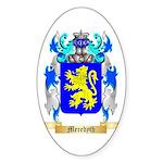Meredyth Sticker (Oval 50 pk)