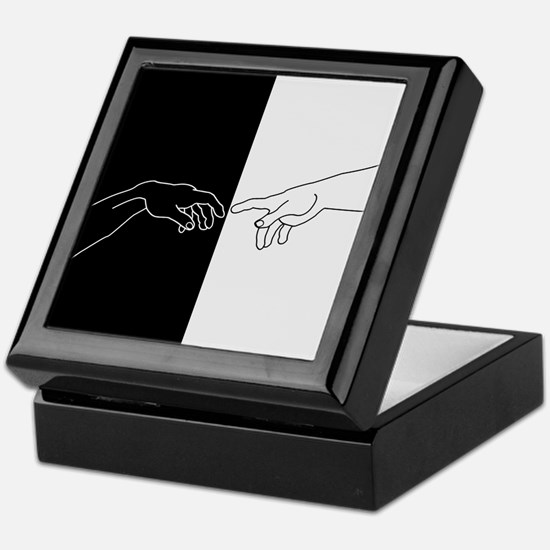 Human touch Keepsake Box