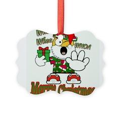 Whoa, whoa, Merry Christmas emoji Ornament