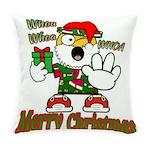 Whoa, whoa, Merry Christmas emoji Everyday Pillow
