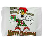 Whoa, whoa, Merry Christmas emoji Pillow Sham