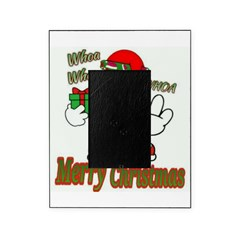 Whoa, whoa, Merry Christmas emoji Picture Frame