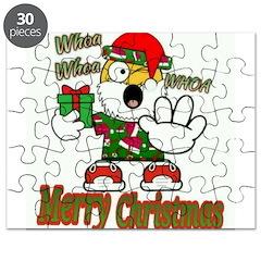 Whoa, whoa, Merry Christmas emoji Puzzle