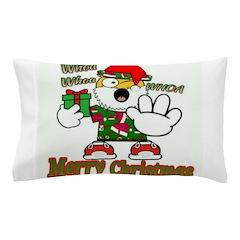 Whoa, whoa, Merry Christmas emoji Pillow Case