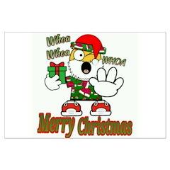 Whoa, whoa, Merry Christmas emoji Posters