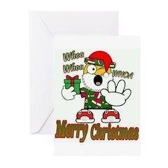 Whoa, whoa, Merry Christmas emoji Greeting Cards