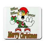 Whoa, whoa, Merry Christmas emoji Mousepad