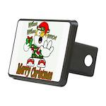 Whoa, whoa, Merry Christmas emoji Hitch Cover