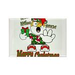 Whoa, whoa, Merry Christmas emoji Magnets