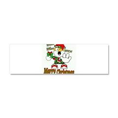 Whoa, whoa, Merry Christmas emoji Car Magnet 10 x