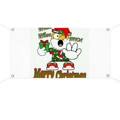 Whoa, whoa, Merry Christmas emoji Banner