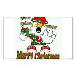 Whoa, whoa, Merry Christmas emoji Sticker