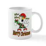 Whoa, whoa, Merry Christmas emoji Mugs