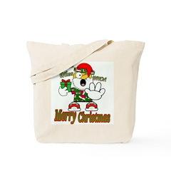 Whoa, whoa, Merry Christmas emoji Tote Bag