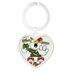Whoa, whoa, Merry Christmas emoji Keychains