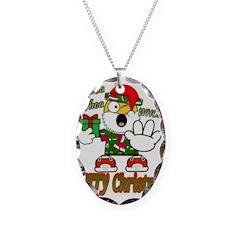 Whoa, whoa, Merry Christmas emoji Necklace