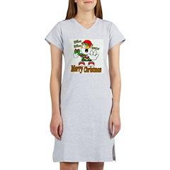 Whoa, whoa, Merry Christmas emoji Women's Nightshi